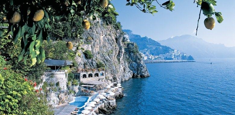Hotel Santa Caterina, view