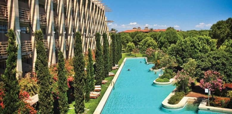Gloria Serenity Resort, pool and exterior view
