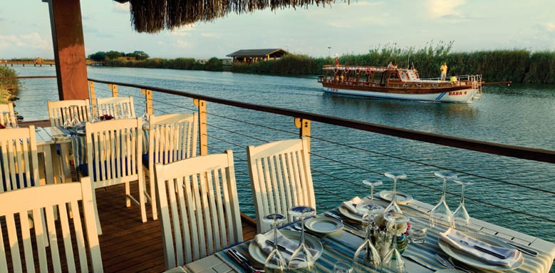 Gloria Serenity Resort, Riverlanding a la carte restaurant