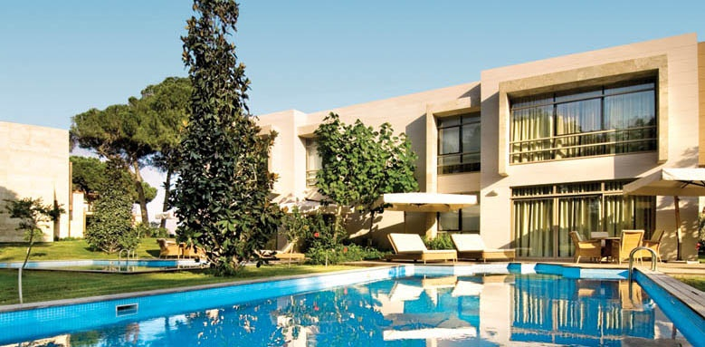 Gloria Serenity Resort, deluxe villa exterior