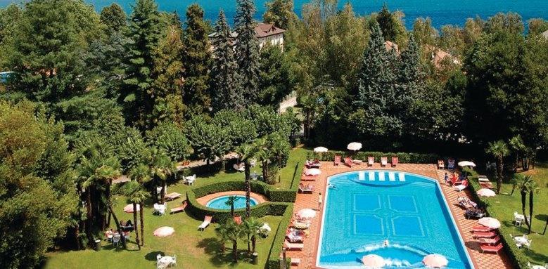 Hotel Simplon, gardens