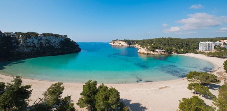Melia Cala Galdana, beach cove