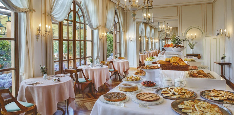belmond hotel splendido, breakfast buffet