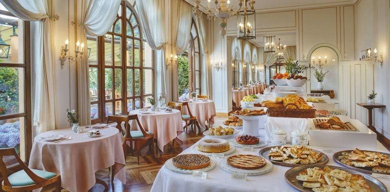 belmond hotel splendido, breakfast buffet