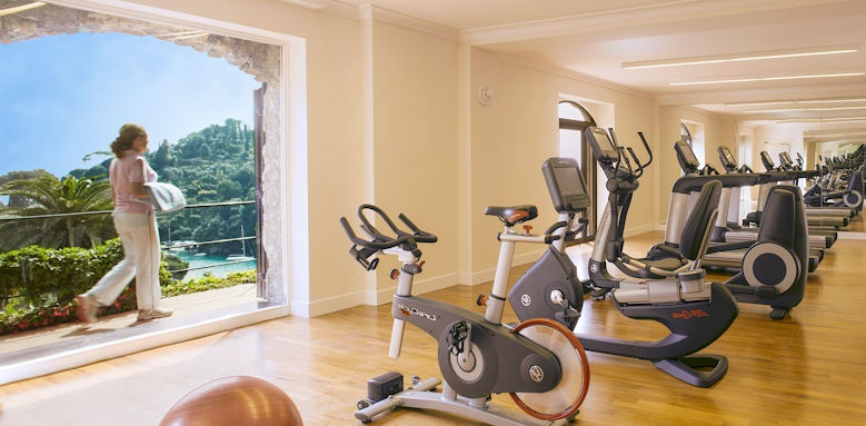 belmond hotel splendido, gym