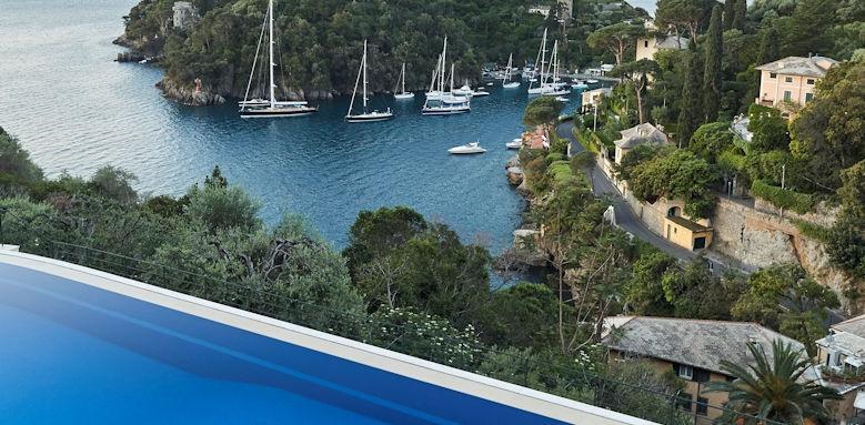 belmond hotel splendido, infinity pool view