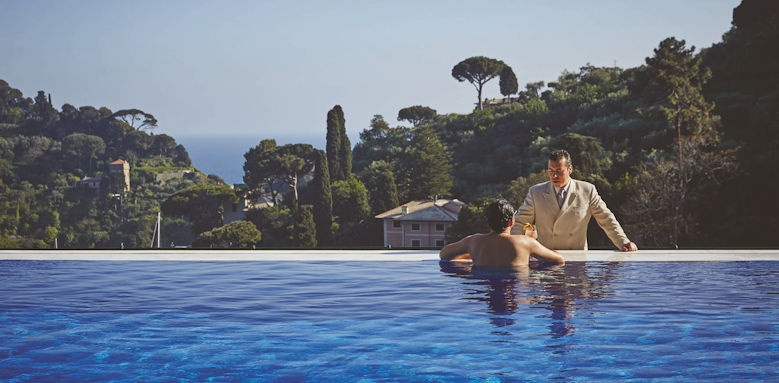 belmond hotel splendido, pool service