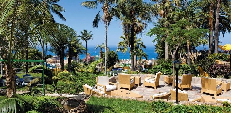 Hotel Tigaiga, terrace