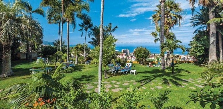 Hotel Tigaiga, garden