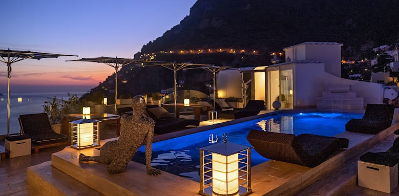 Hotel Villa Franca, champagne bar