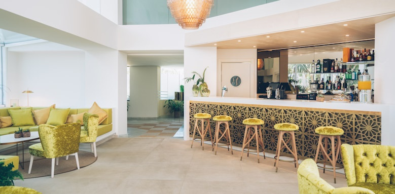 iberostar marbella coral beach, lobby bar