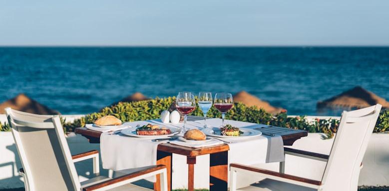 iberostar marbella coral beach, seasoul dining table