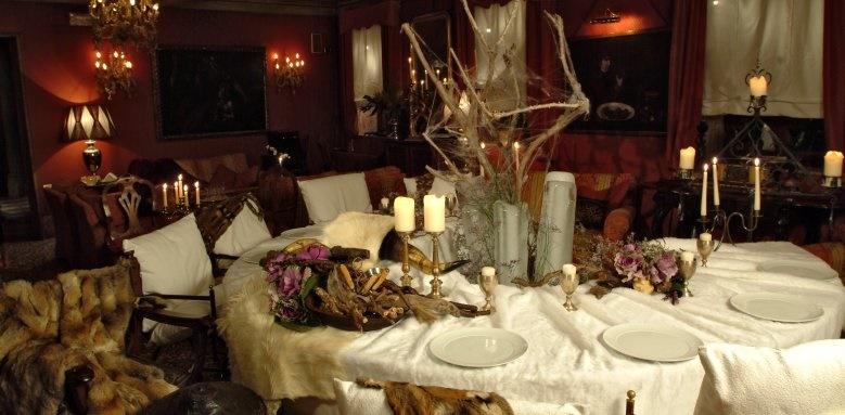 Metropole Hotel, tavola restaurant