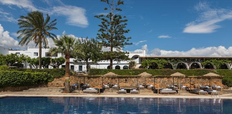 Minos Beach, pool