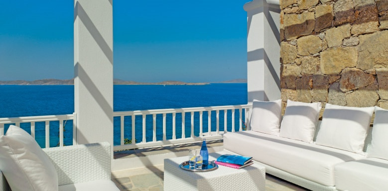Mykonos Grand Hotel & Resort, pergola