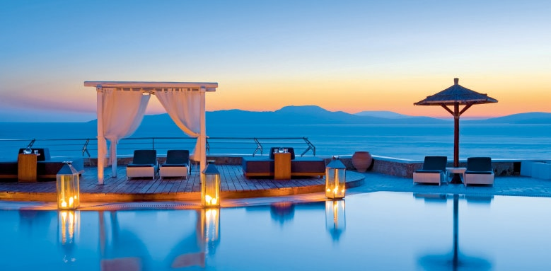 Mykonos Grand Hotel & Resort, pool view