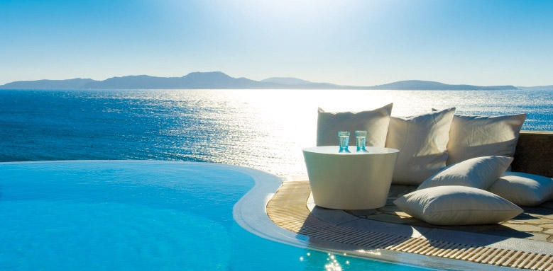 Mykonos Grand Hotel & Resort, private pool