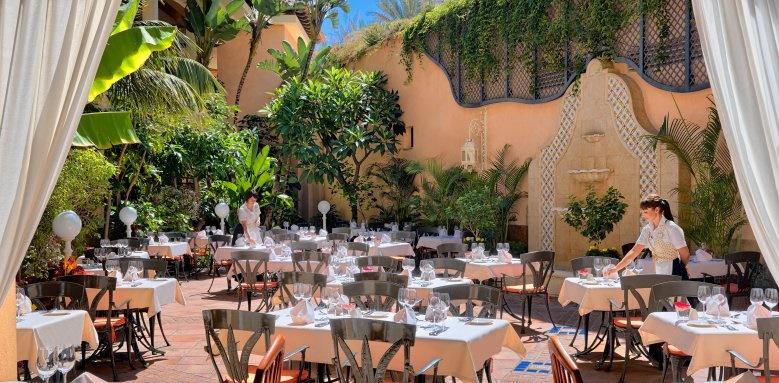 Gran Hotel Atlantis Bahia Real, La Alacena terrace