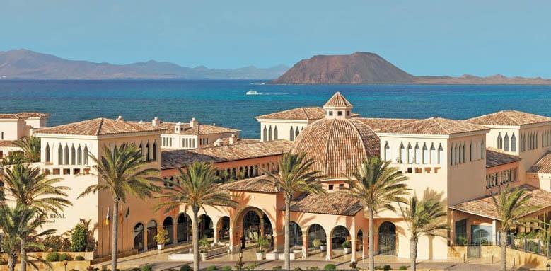 Gran Hotel Atlantis Bahia Real, entrance