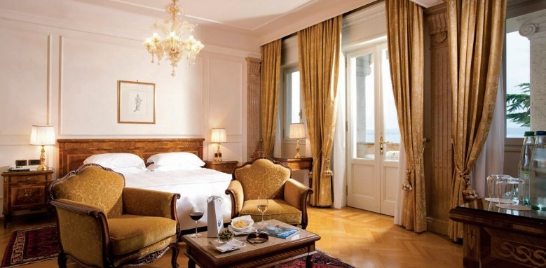 Palace Hotel Villa Cortine, deluxe room