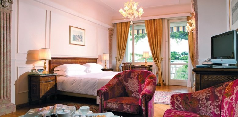 Palace Hotel Villa Cortine, junior suite