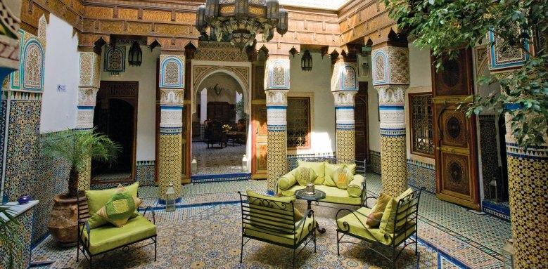 Palais Sebban, courtyard