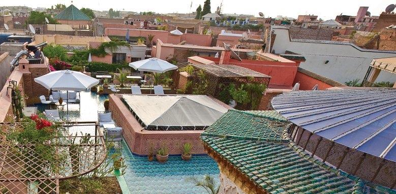 Palais Sebban, rooftop terrace
