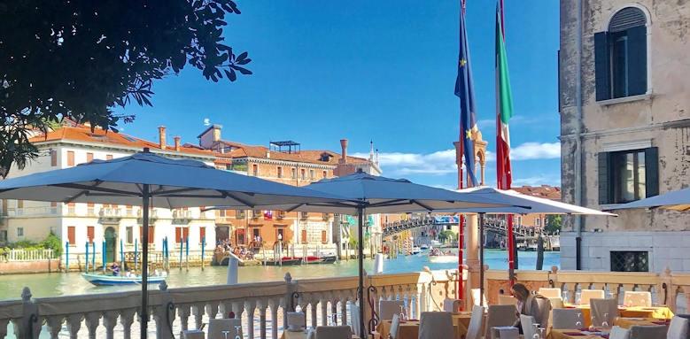 Palazzo stern, terrace