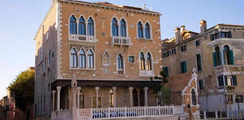 Palazzo Stern Hotel, facade