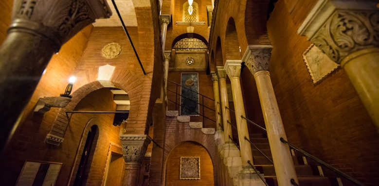 Plazzo Stern Hotel, stair case