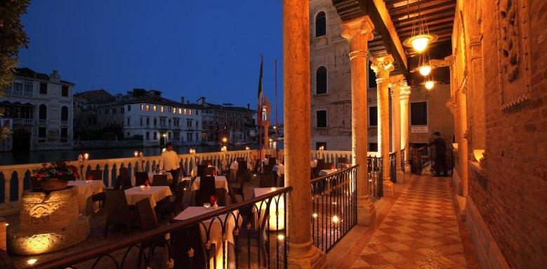 Palazzo Stern Hotel, night terrace