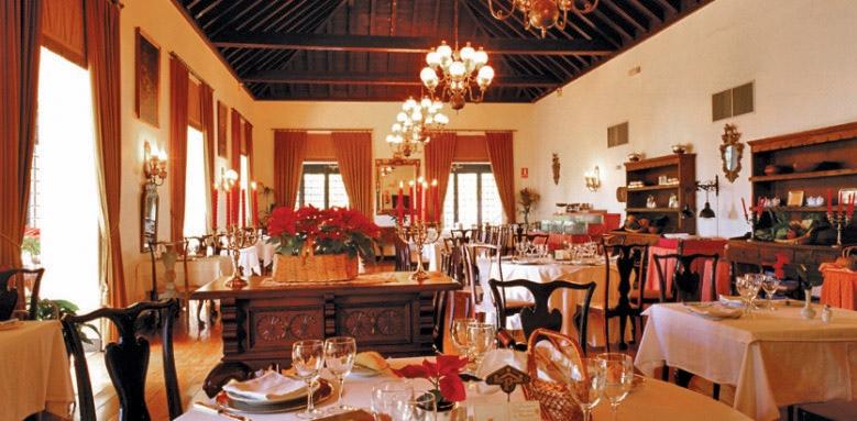 Parador de La Gomera, restaurant