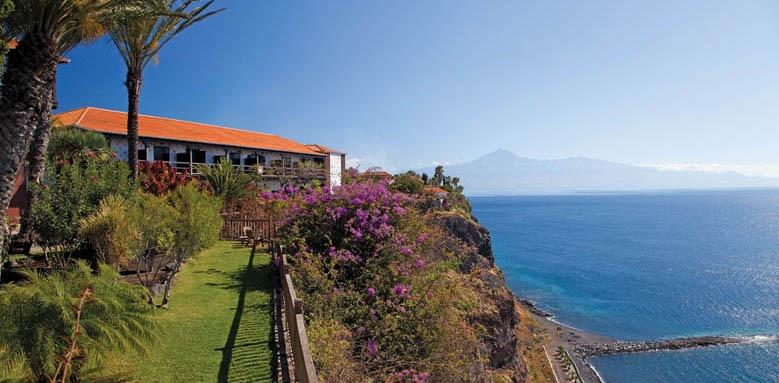 Parador de la Gomera, Gardens with Sea View
