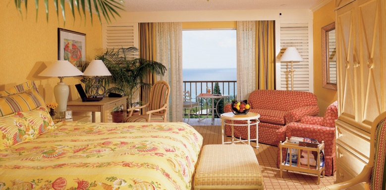 The Fairmont Southampton, gold ocean view room