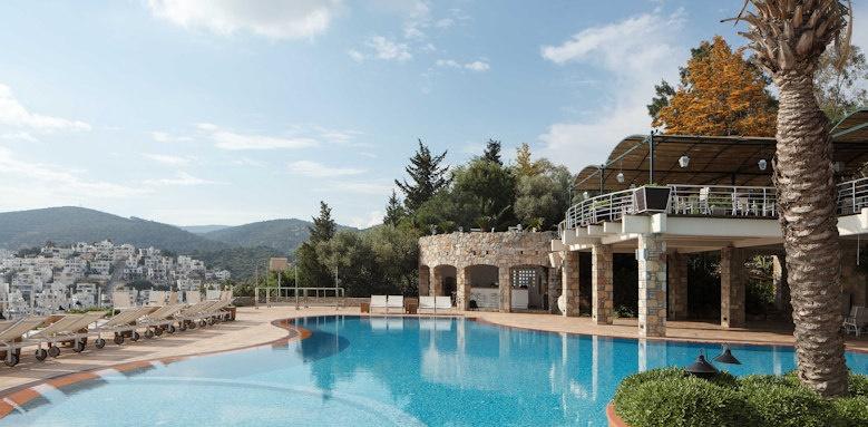 The Marmara Bodrum, pool view