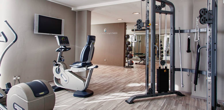 The Palace, fitness room