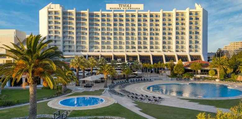 tivoli marina vilamoura, hotel and pool area