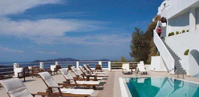 tzekos villas, pool loungers