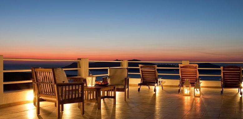 tzekos villas, terrace