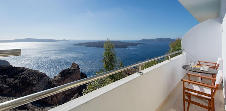 tzekos villas, sea view balcony