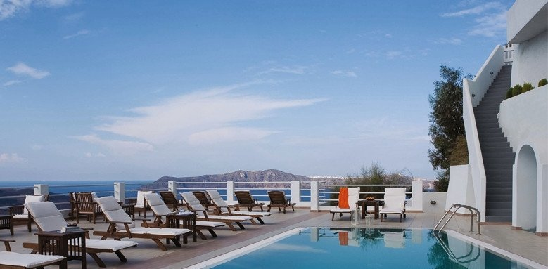 Tzekos Villas, pool
