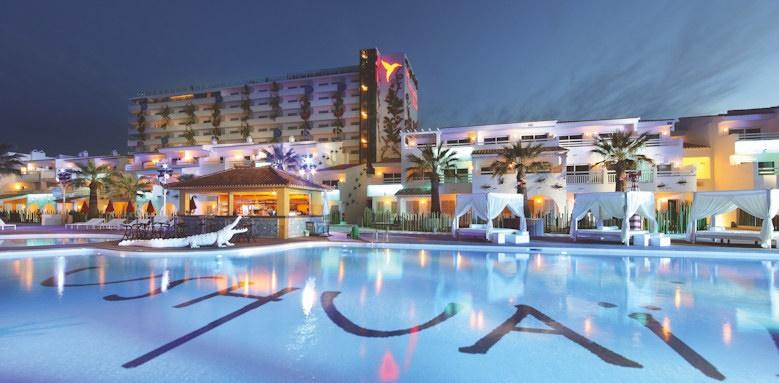 ushuaia ibiza beach, club pool