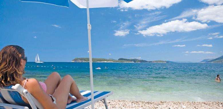 Valamar Dubrovnik President, beach