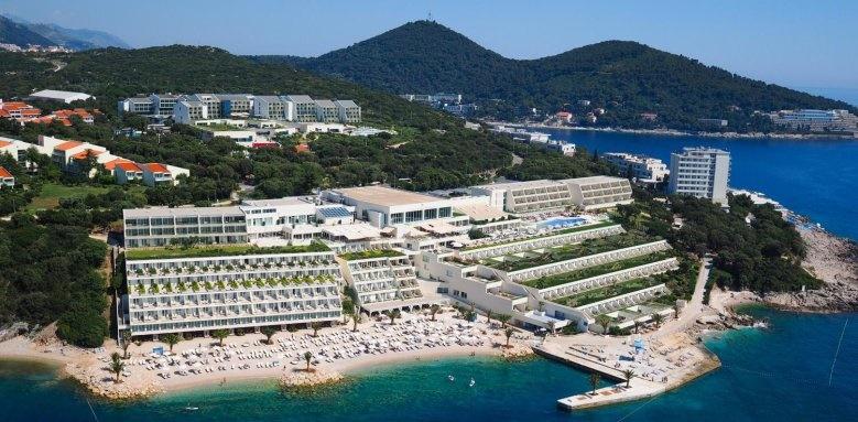 Valamar Dubrovnik President, exterior and beach