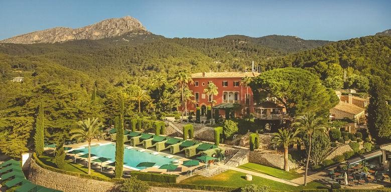 Gran Hotel Son Net, aerial view