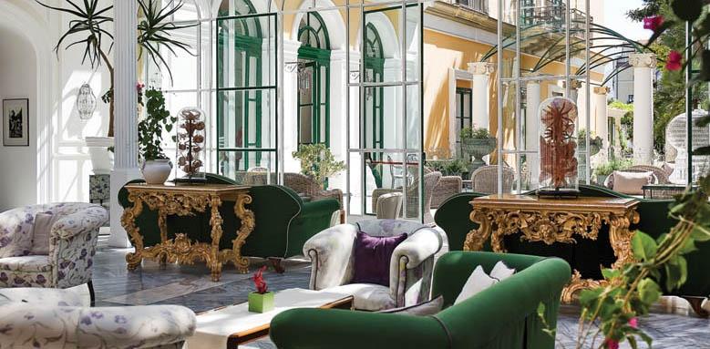 Hotel Bellevue Syrene, winter garden