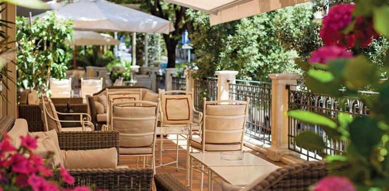 Grand Hotel Francia & Quirinale, terrace
