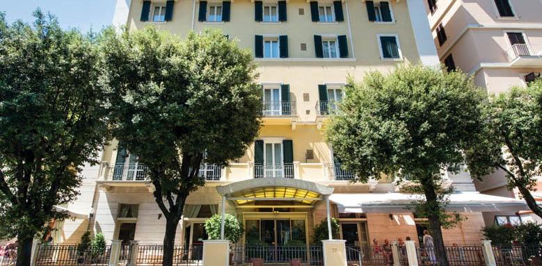 Grand Hotel Francia & Quirinale, facade