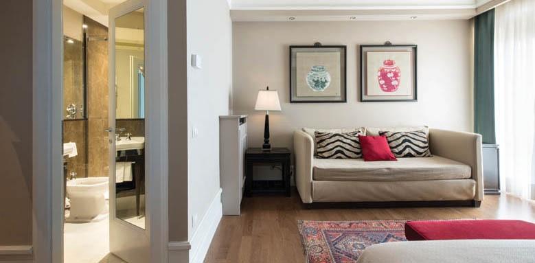 Grand Hotel Francia & Quirinale, junior suite sofa area