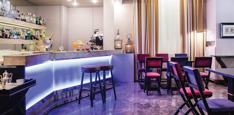Grand Hotel Francia & Quirinale, lounge bar evening